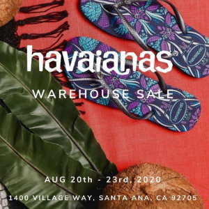 Greer's OC | HAVAIANAS Warehouse Sale