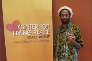 Eugene Cooke at Center for Living Peace